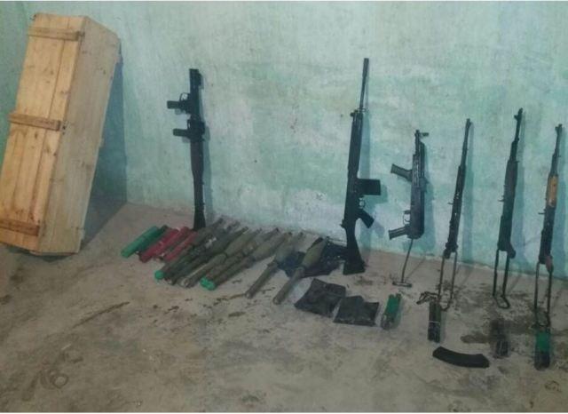 الداخلية ضبطت وكرين لجماعة الإخوان لتخزين الأسلحة