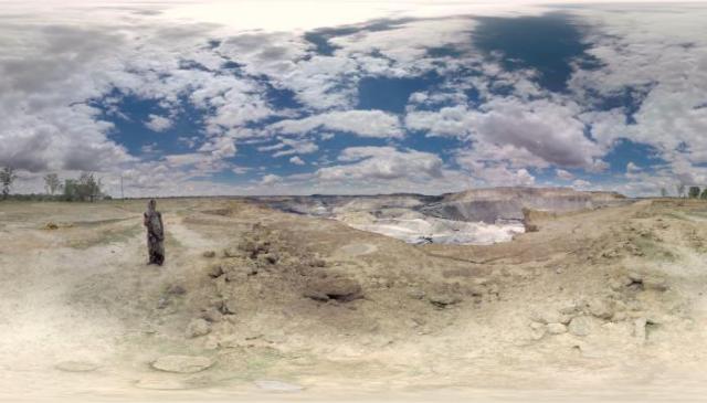 """مشهد من فيلم """"عندما نفقد الأرض"""""""