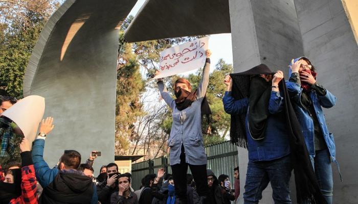 تواصل المظاهرات الإيرانية الغاضبة