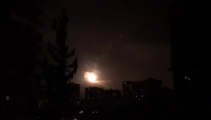 ضربة صاروخية على سوريا