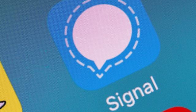 نتيجة بحث الصور عن Signal application