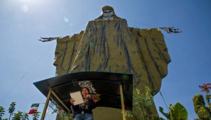 """تمثال """"قديسة الموت"""""""