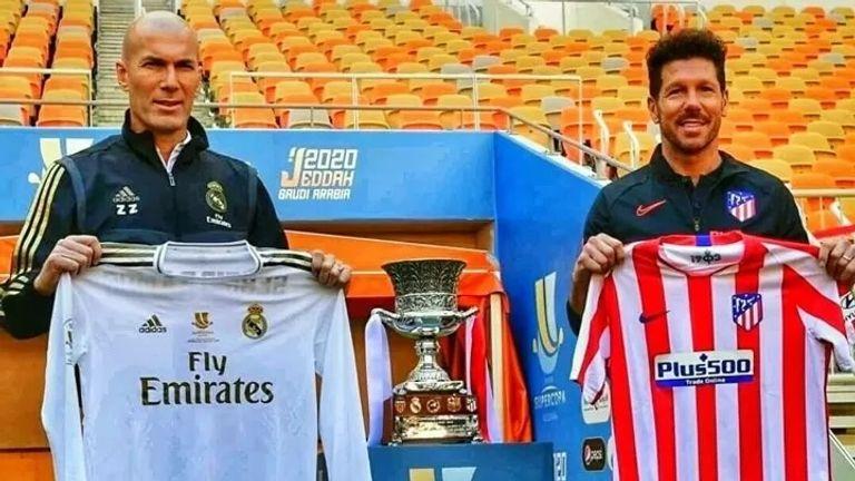 بين الولايتين أتلتيكو سيميوني مفتاح سلسلة بطولات ريال زيدان
