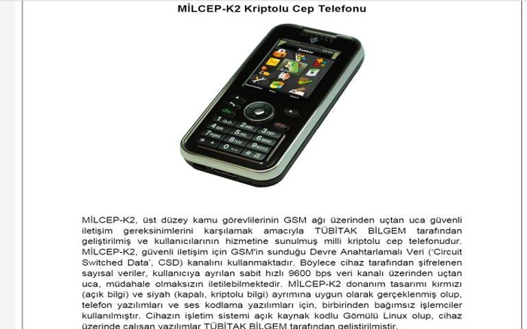 الهاتف التركي المؤمن الذي يمنح للقادة السياسيين