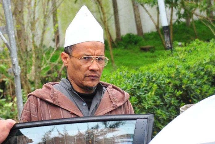 "The terrorist Ali Belhadj, the second head in ""The Salvation Front"" Brotherhood banned in Algeria"