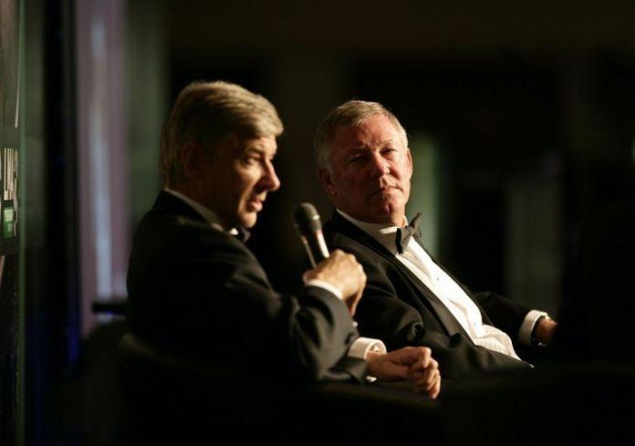 Arsene Wenger and Alex Ferguson