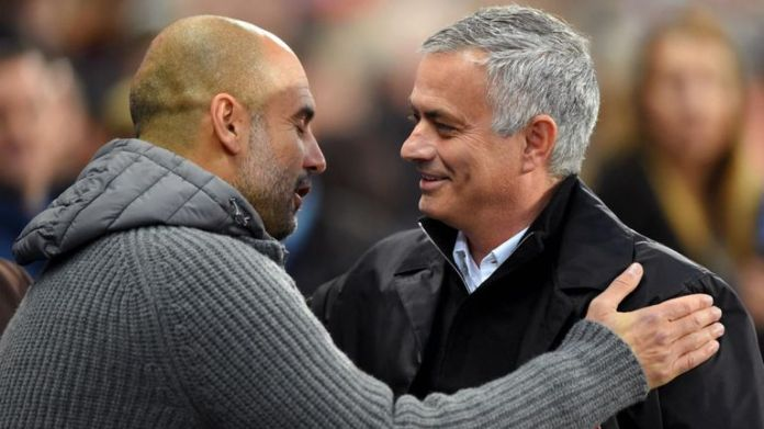 Pep Guardiola is the current Manchester City coach, and Jose Mourinho, the current coach of Tottenham Hotspur