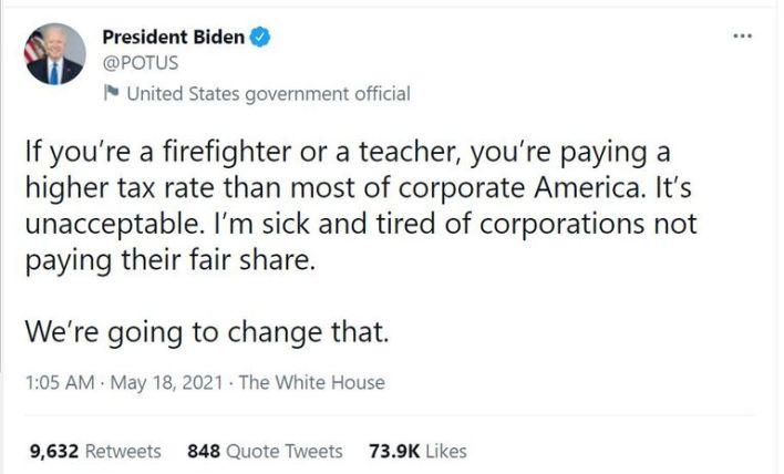 تعليق الرئيس الأمريكي جو بايدن