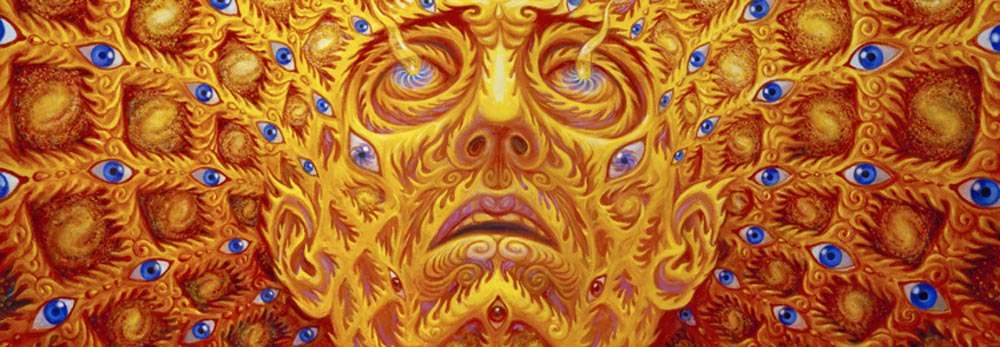 Alex Grey Nature Mind