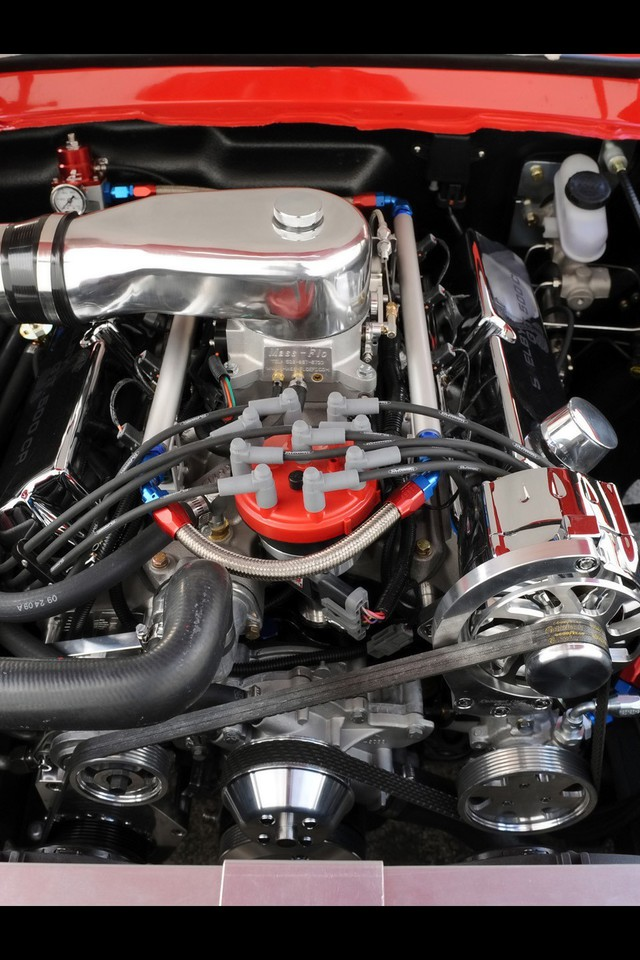 Classic Ford Shelby V8 Engine Engines Muscle Cars