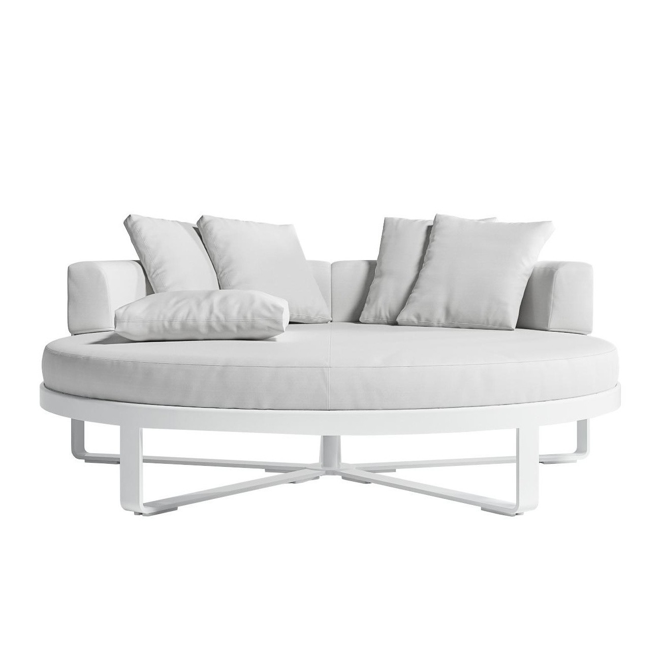 flat outdoor chill bed daybed round