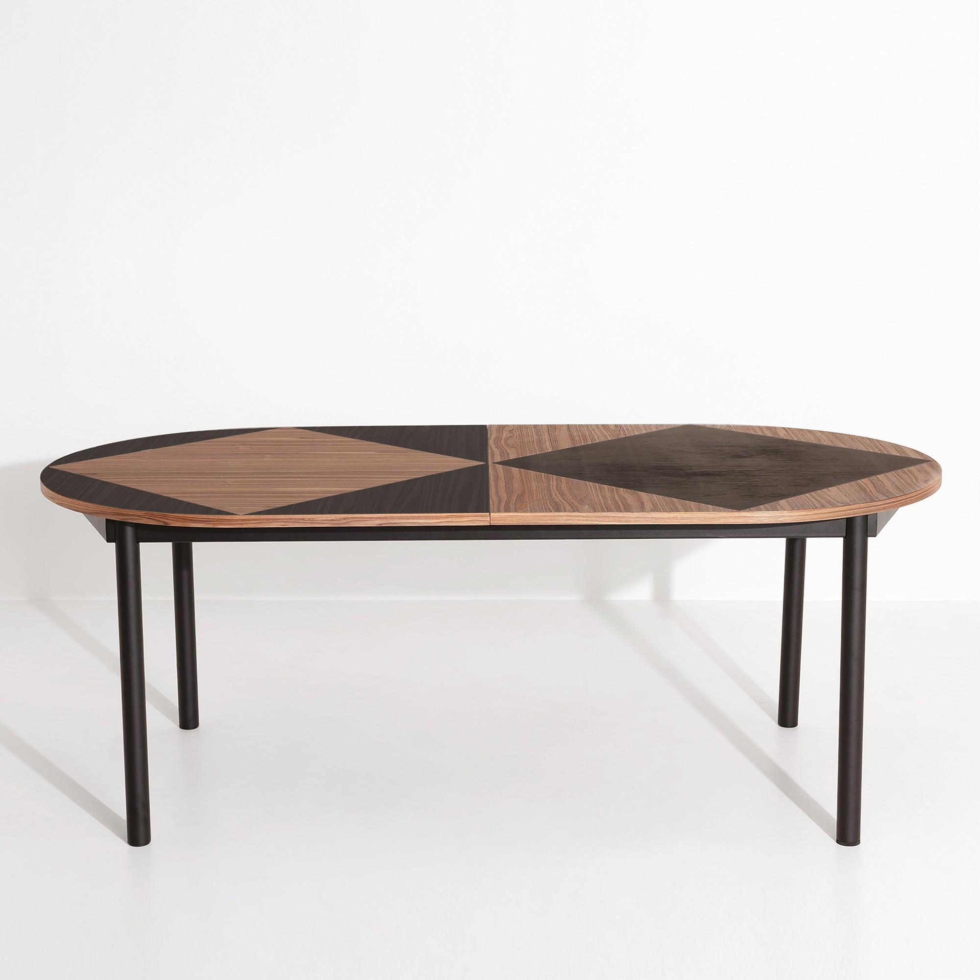 tavla oval table 200x100cm extendable