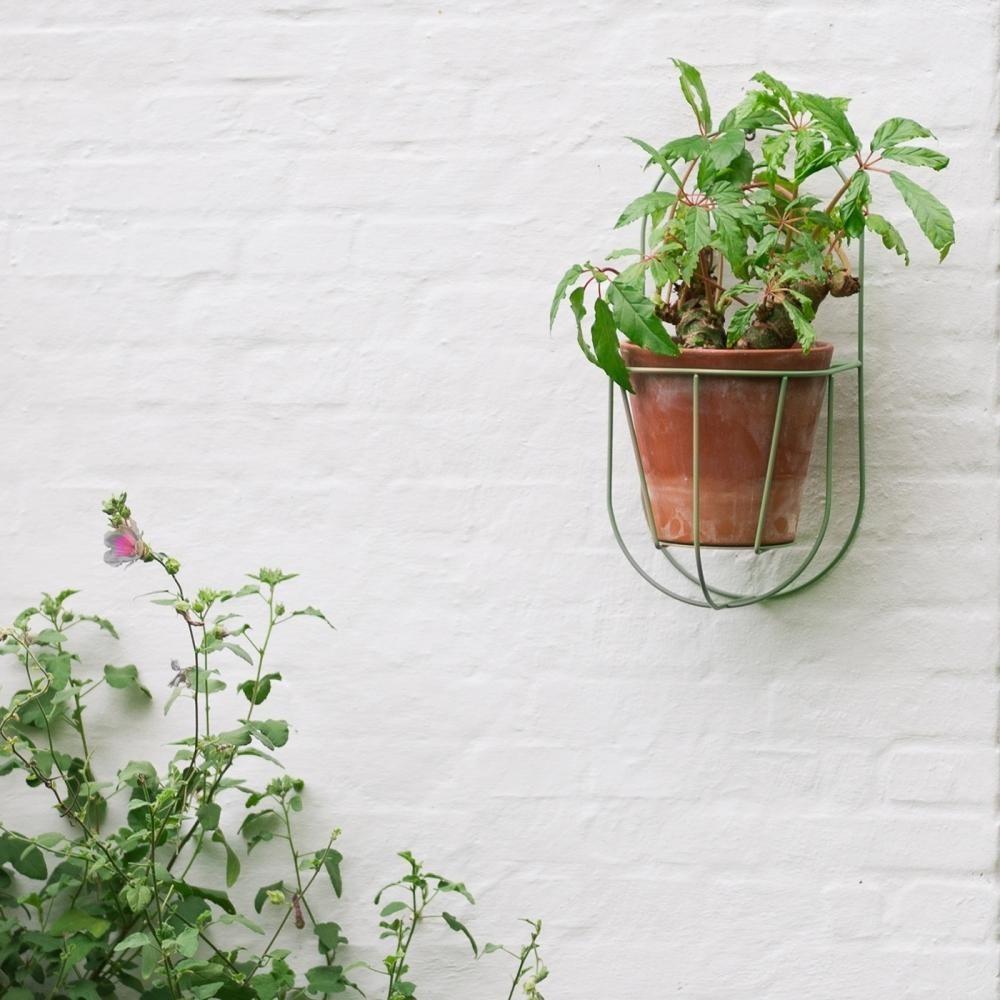 support mural pour pot de fleurs wall cibele