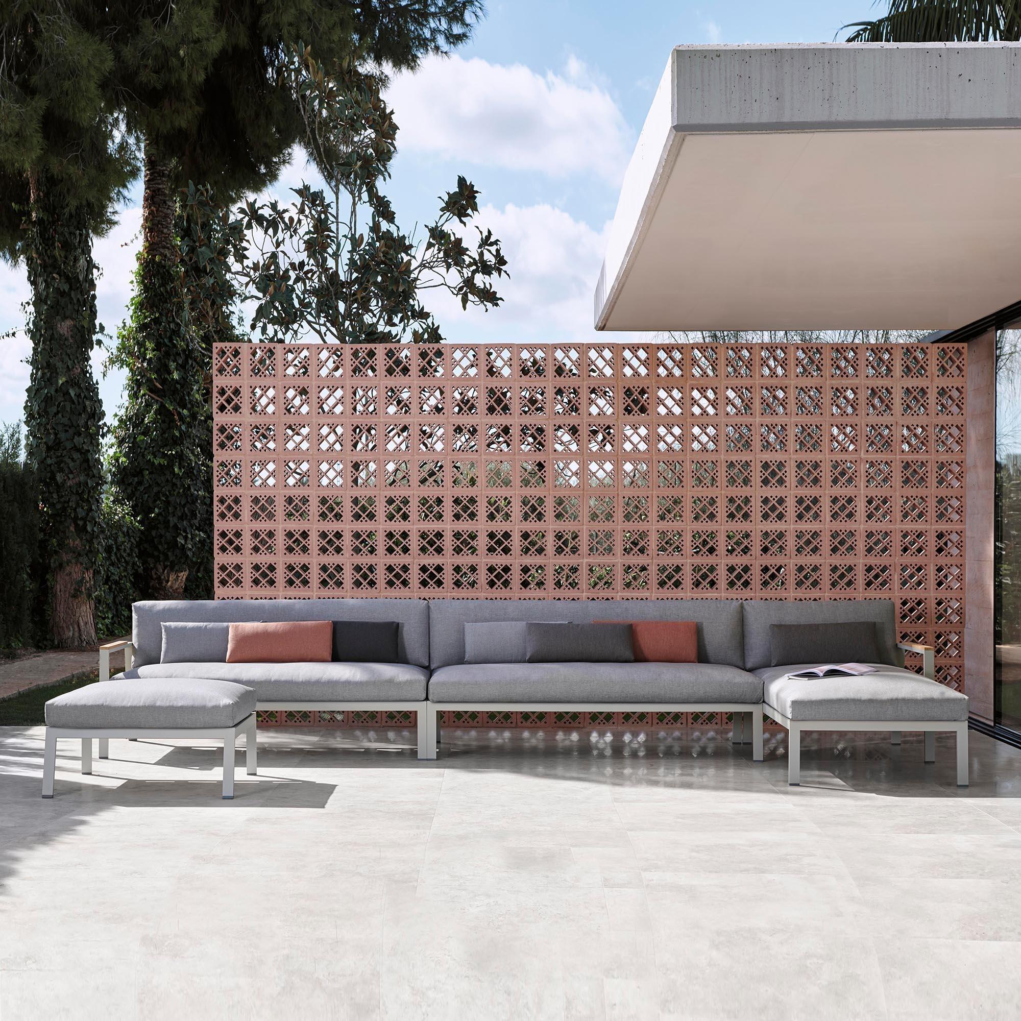 timeless modul 1 outdoor sofa 175x84x76cm