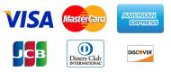 各種クレジットカードでお支払いができるようになりました   深井整体院