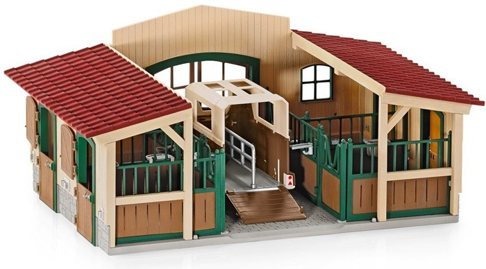 Schleich Horse Stable With Accessories A Mighty Girl
