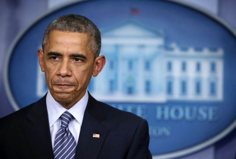 Le président américain Barack Obama fait une déclaration à la salle de conférence de presse James Brady de la Maison Blanche le 24 novembre 2014 à Washington, DC.  |  Photo: Getty Images