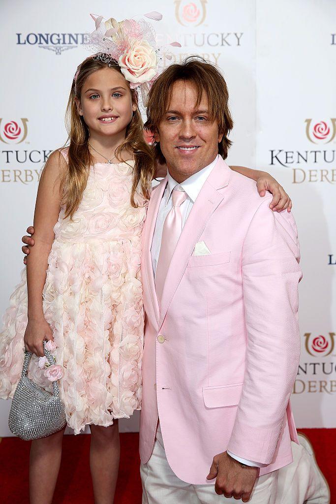 Dannielynn Birkhead and Larry Birkhead at the 141st Kentucky Derby in 2015 in Louisville, Kentucky | Source: Getty Images