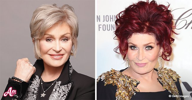 Sharon Osbourne Opens Up About Shedding Iconic Red Hair For Platinum
