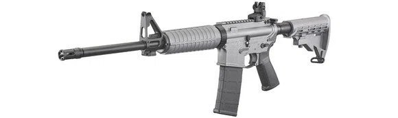 Ruger AR-556 modern sporting rifle