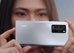 Huawei p40 Pro en color gris