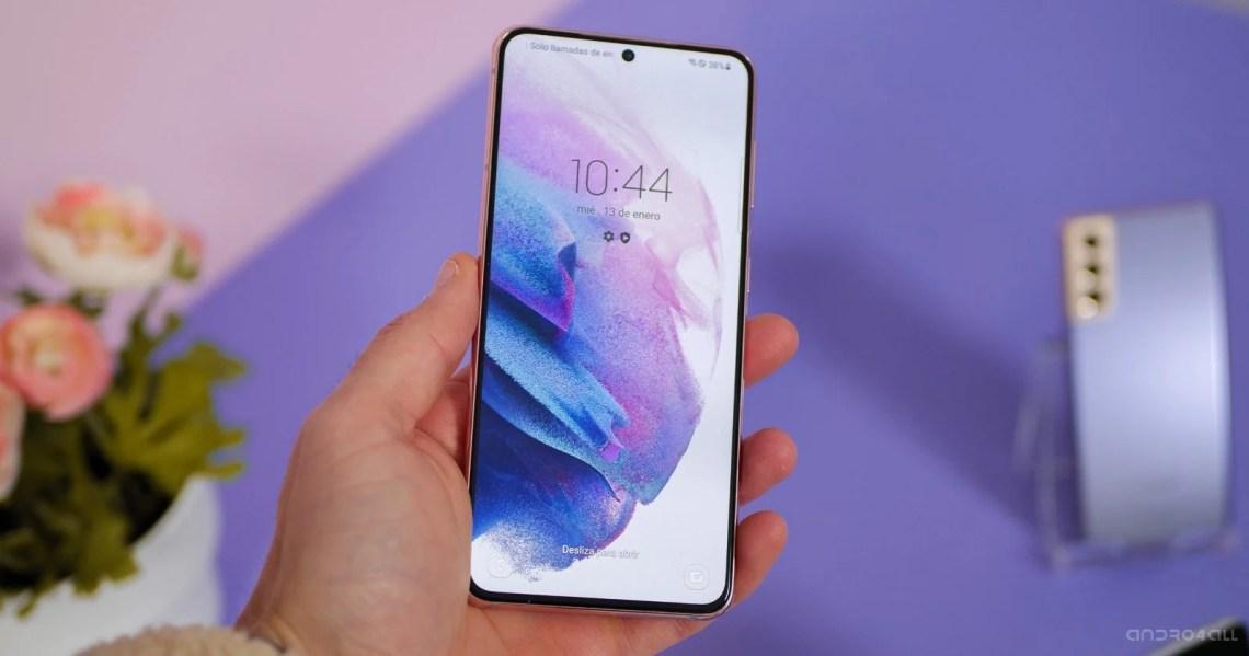 La pantalla del Samsung Galaxy S21
