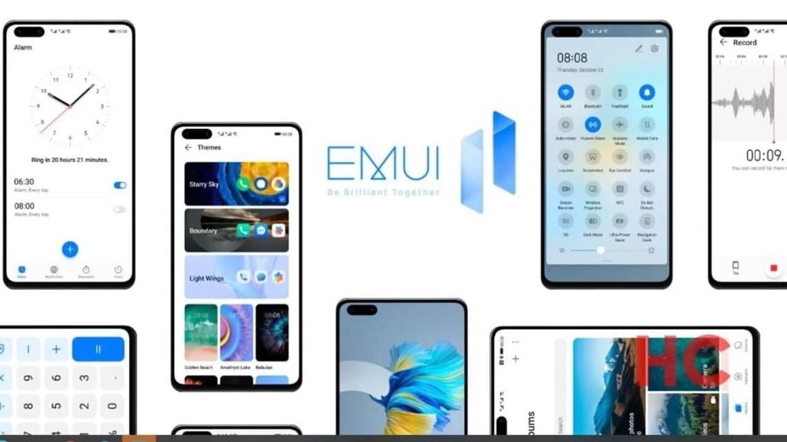 EMUI 11.1, muy cerca de llegar a los smartphones del fabricante chino