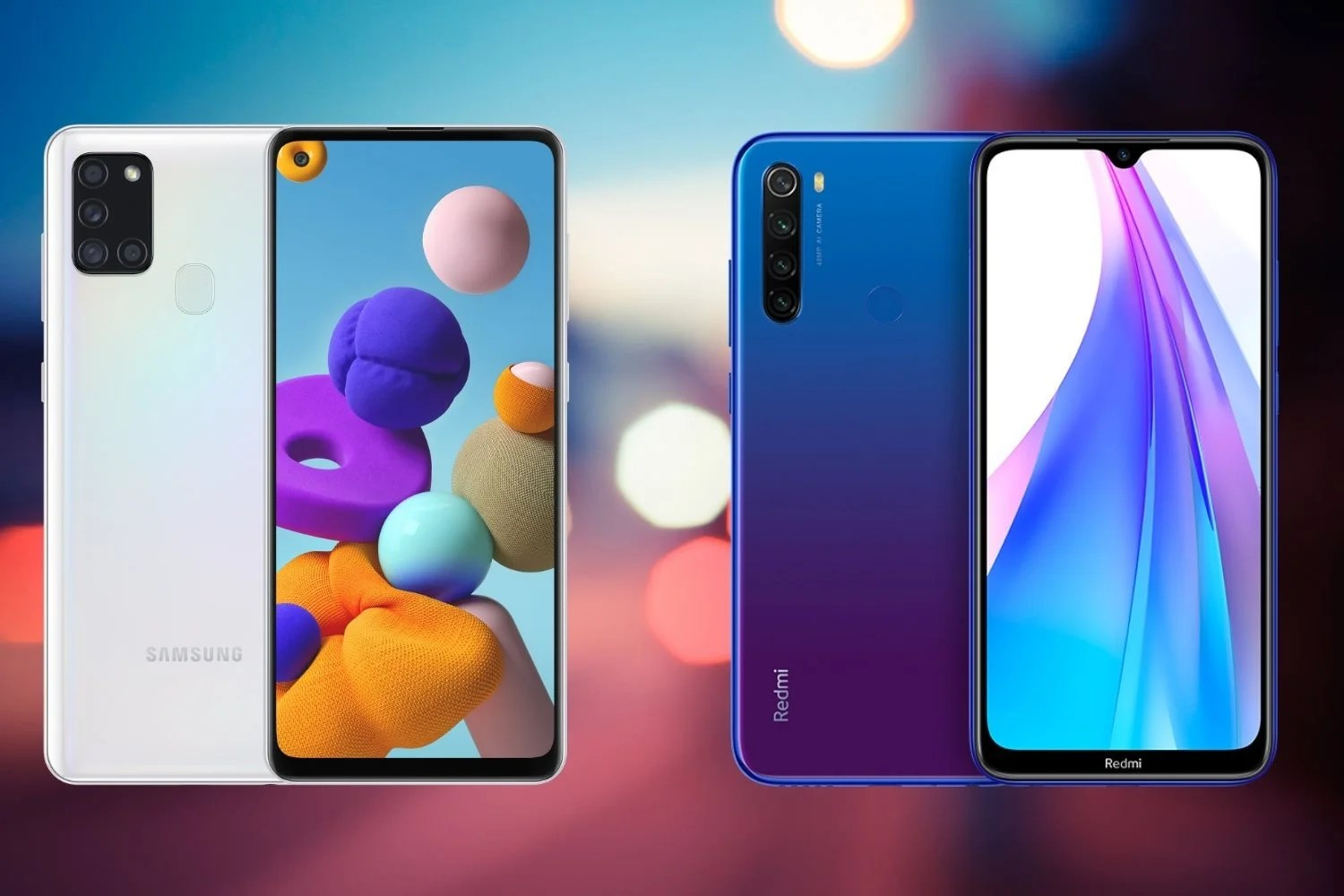 Samsung Galaxy A21s Vs Xiaomi Redmi Note 8t Which Is Better Buy News Archy Uk