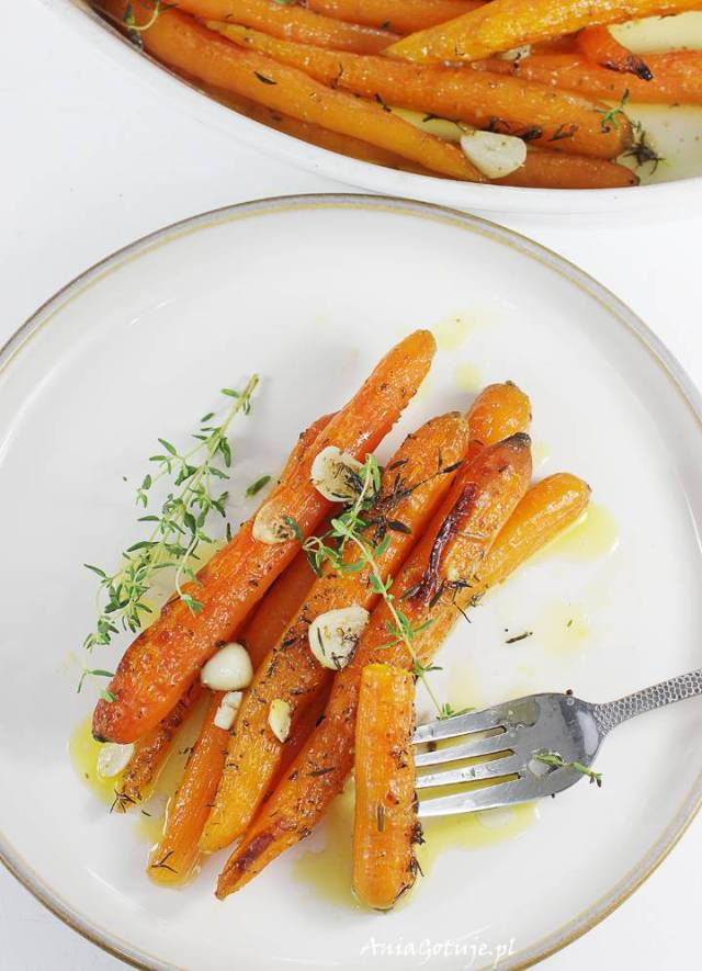 Жареная морковь, 1 шт.