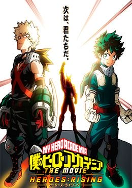 Boku no Hero Academia the Movie 2: Heroes:Rising Episodio 1