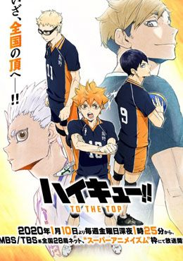 Haikyuu!!: To the Top Episodio 25