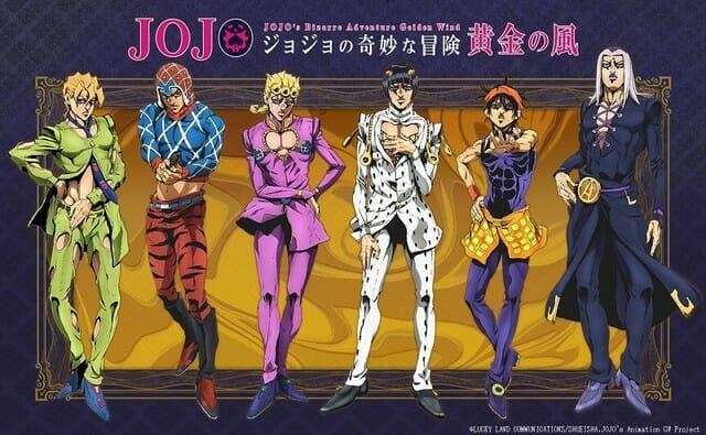 JoJo's Bizarre Adventure - Golden Wind Anime Visual - 001