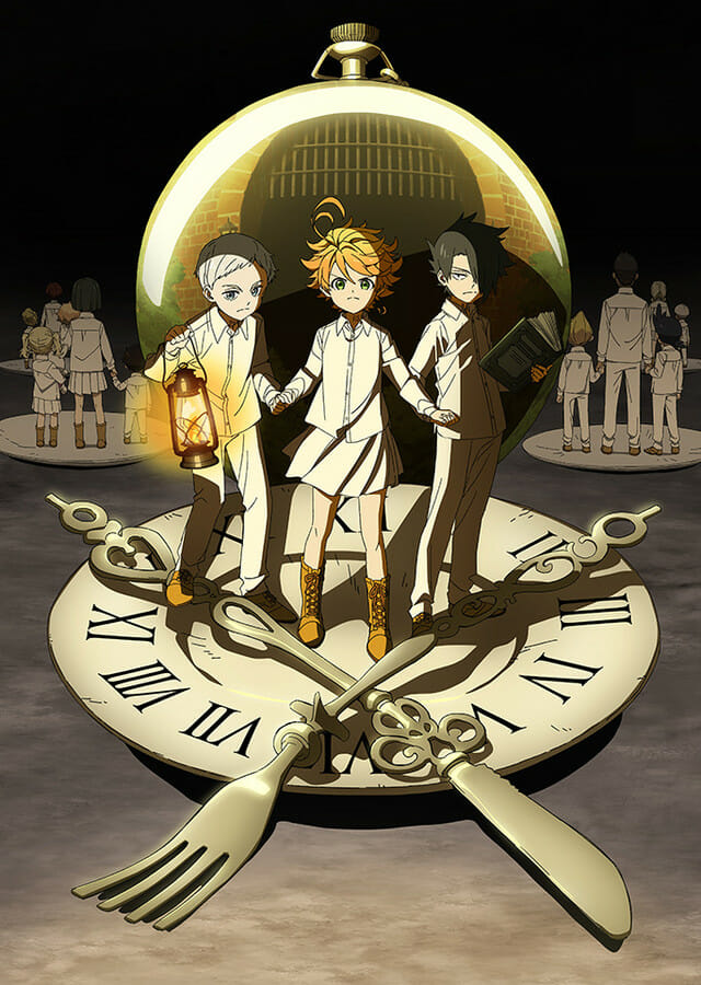 Promised Neverland Anime Visual