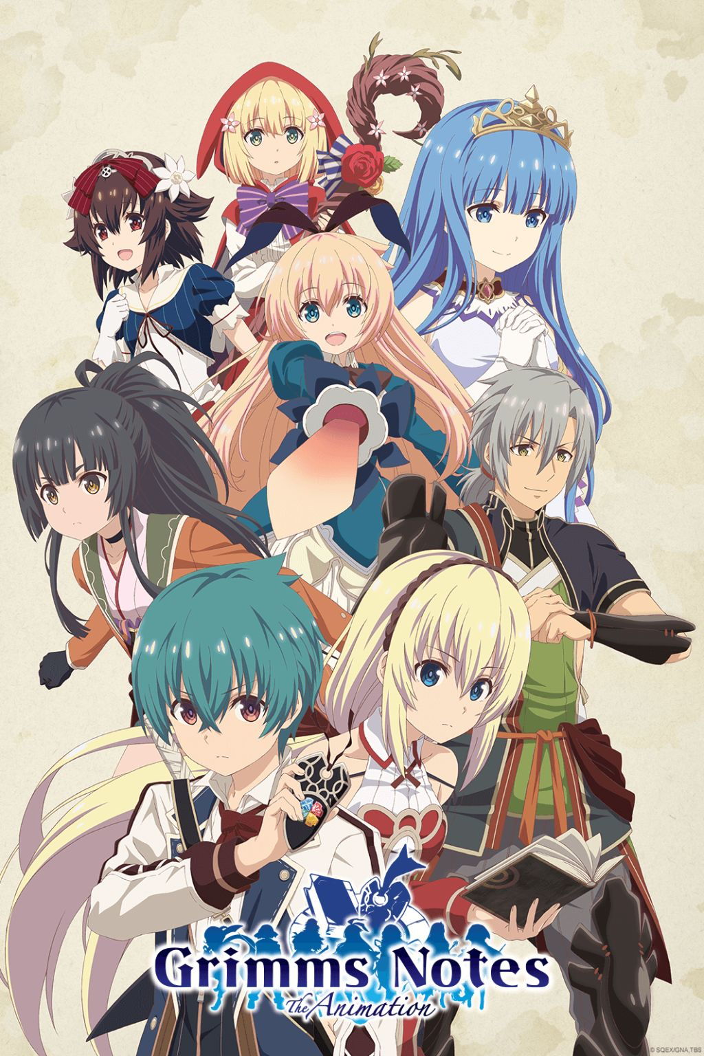 Grimms Notes Anime Visual