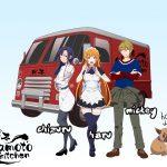Okamoto Kitchen Character Visual - Okamoto Kitchen