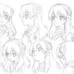 Dr Stone Character Visual - Yuzuriha Ogawa