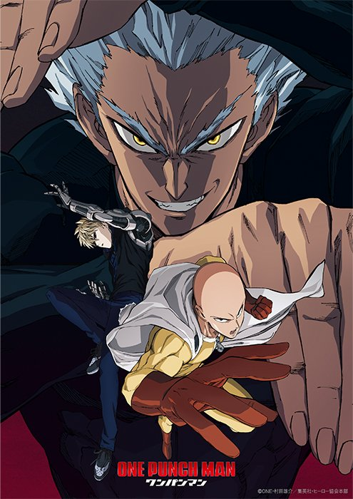 One Punch Man Season 2 Garou