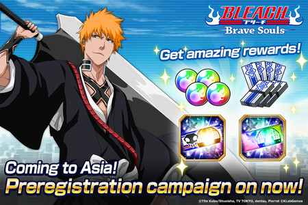 Bleach: Brave Souls Mobile Game Launches in Southeast Asia
