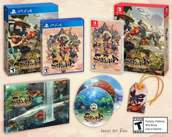 "XSEED Reveals Physical Release for ""Sakuna: Of Rice and Ruin Game"""
