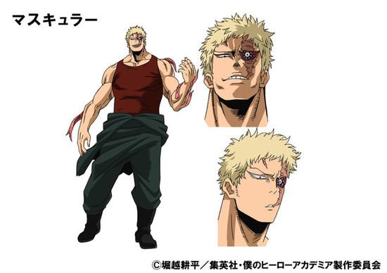 Boku no hero academia season 3 new villains- Muscular