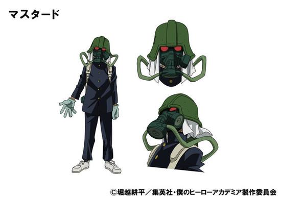 Boku no hero academia season 3 new villains- Mustard