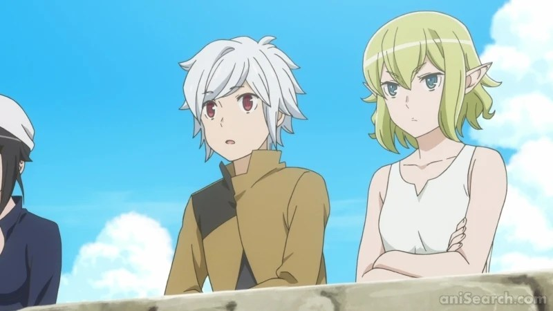 Is It Wrong To Try To Pick Up Girls In A Dungeon Season 2 . Is It Wrong To Try To Pick Up Girls In A Dungeon Season 2 Ova Anime Anisearch