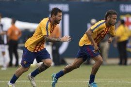 Messi goda Neymar agar kembali ke Barcelona