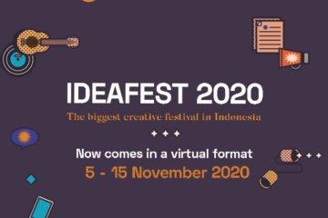 IDEAFEST 2020 berlangsung virtual pada 5-15 November - ANTARA News