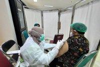 Vaksinasi COVID-19 sudah dilakukan kepada 1.269.905 tenaga kesehatan