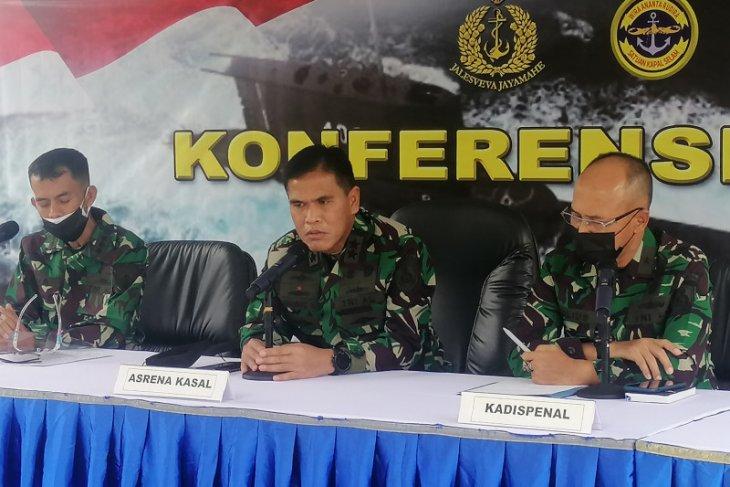 TNI AL akui susah evakuasi KRI Nanggala-402