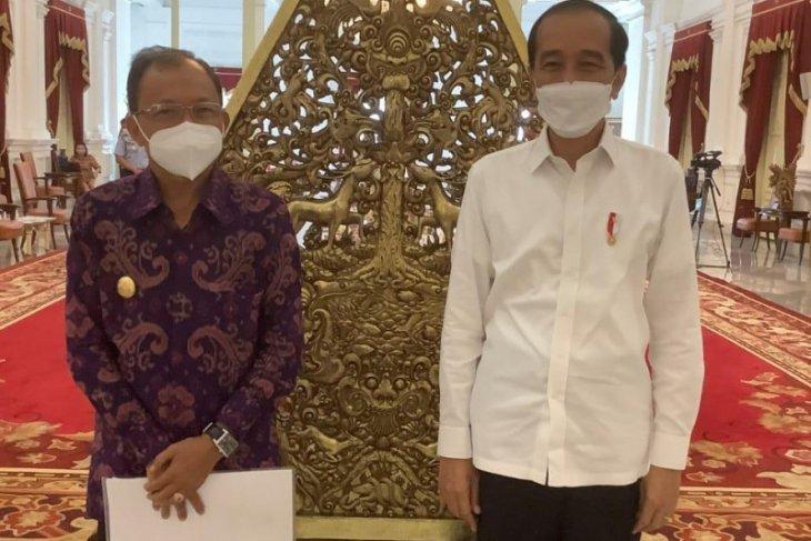 Gubernur Bali minta tambahan 3 juta vaksin COVID-19 kepada Presiden