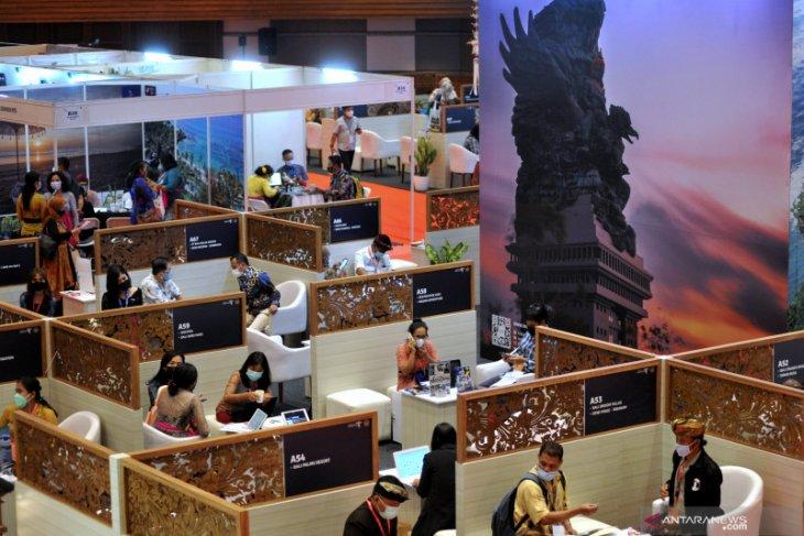 """145 'sellers' dari belasan provinsi  ikuti """"Bali and Beyond Travel Fair 2021"""""""