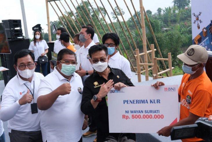 """BNI dukung petani digital lewat """"Milenial Smartfarming"""" di Bali"""