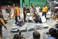 BNNP Bali gagalkan penyelundupan 44 kg ganja jaringan Medan-Bali